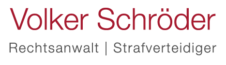 Strafverteidiger Volker Schröder